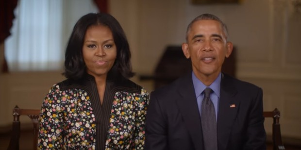 Obamas ask Americans to help 'Obama Foundation'