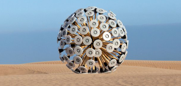 Tumbleweed minesweeper helps clear Afghanistan from land mines