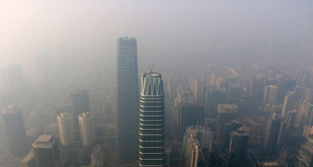 China issues red alert for fog and smog