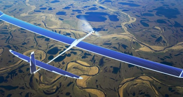 Google killed its solar-powered internet drone project