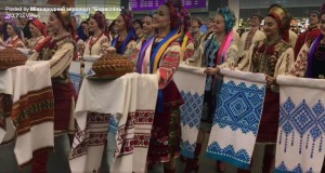 Watch It: Ukraine Dance Ensemble Surprise Performance at Kyiv Airport Before Leaving For Tour