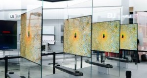 CES 2017: LG presents jaw-dropping 'wallpaper' 4K OLED screen