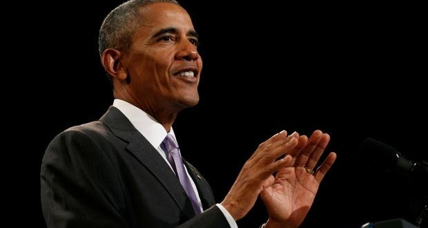 US President Obama delivers emotional farewell speech