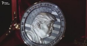Oops! Russians mint 'In Trump We Trust' coins with misspelling