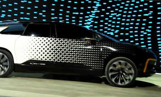 Faraday Future's electric car FF 91 unveiled - video