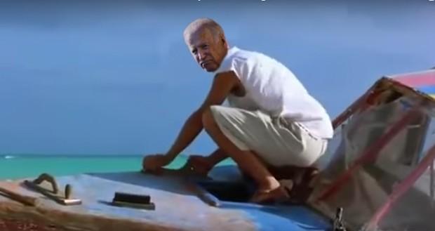 Barack Obama and Joe Biden get their own 'Shawshank Redemption' moment