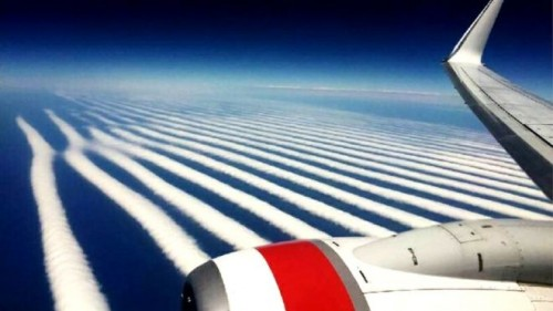 Spectacular cloud photographed over Australia. Photo: BBC.