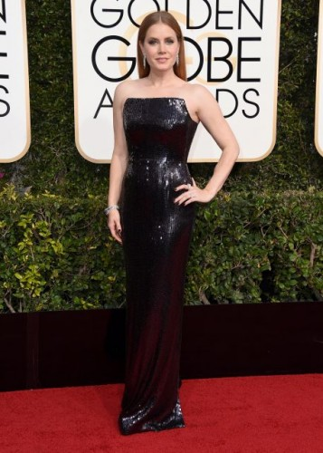 Amy Adams at the 74th annual Golden Globe Awards in Beverly Hills, California, January 8, 2017.