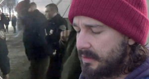 Shia LaBeouf arrested at anti-Donald Trump protest in New York