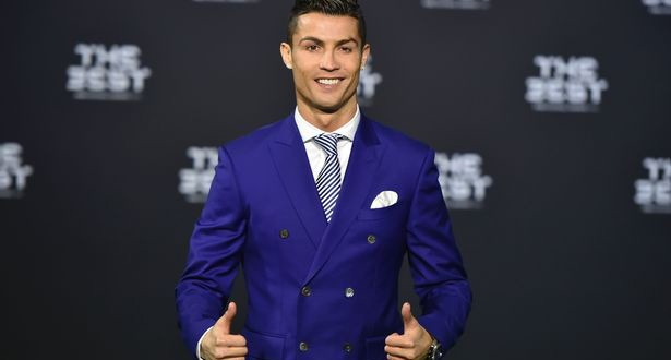 Cristiano Ronaldo wins best player award at first ever Best FIFA Football Awards ceremony