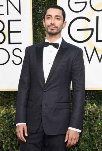 Riz Ahmed at the 74th annual Golden Globe Awards in Beverly Hills, California, January 8, 2017.