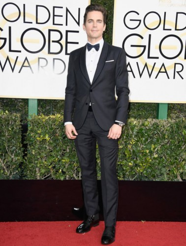 Matt Bomer at the 74th annual Golden Globe Awards in Beverly Hills, California, January 8, 2017.