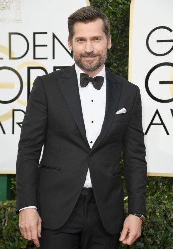 Nikolaj Coster-Waldau at the 74th annual Golden Globe Awards in Beverly Hills, California, January 8, 2017.