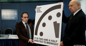 'Doomsday Clock' ticks closer to midnight than ever