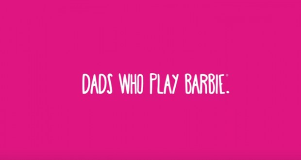 Watch this adorable 'Dads Who Play Barbie' campaign