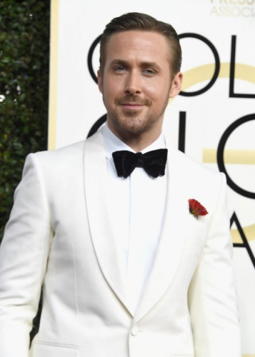Ryan Gosling at the 74th annual Golden Globe Awards in Beverly Hills, California, January 8, 2017.