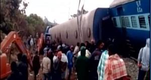 India train crash: 36 killed in Andhra Pradesh derailment