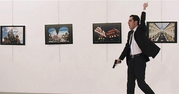 Turkish police investigate Russian envoy killer's Internet activity
