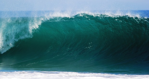 Scientists found a possible way to stop tsunamis in their tracks