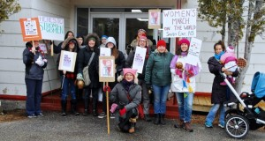Nova Scotia village hosts one of the smallest women's marches, but it's still mighty