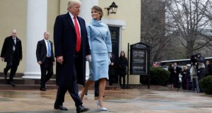 Melania Trump channels Jackie Kennedy but Conway grabs fashion headlines - Reuters