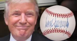 Trump Signed Ball, Playboy Fetch Big Money At Auction