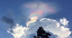Singapore 'fire rainbow' cloud phenomenon lights up sky
