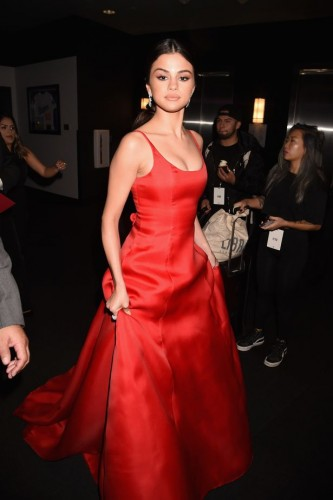 Selena Gomez at 2016-American-Music-Awards-Red-Carpet Photo: FilmMagic