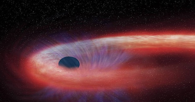 Giant Black Hole Has Been Absorbing Star For More Than 10 Years Now