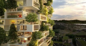 China Builds Asia's First Vertical Forest That Produces 60 Kg Oxygen Every Day