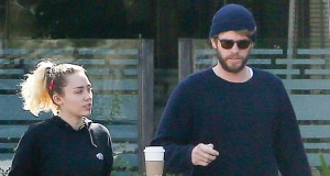 Miley Cyrus enjoys lunch date with fiancé Liam Hemsworth