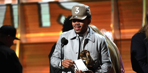 Chance the Rapper who has no label just made history with his Grammy win