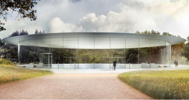Futuristic Apple 'spaceship' headquarters to open in April