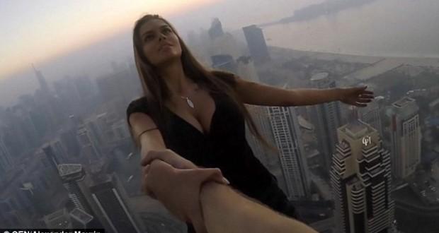 Risking Life For Likes: Russian Instagram Star Dangles From Dubai Skyscraper