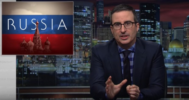 John Oliver perfectly explains to Donald Trump why Putin is bad news