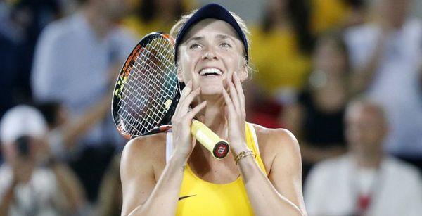 Ukraine's Elina Svitolina advances to Taiwan semifinals