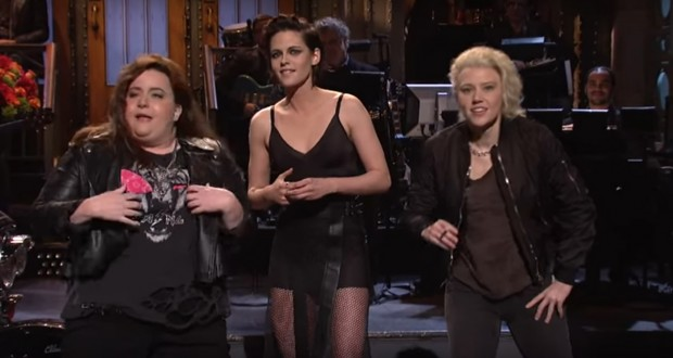 SNL Debut: Kristen Stewart Drops F-Bomb, Mocks Trump For Tweeting About Her