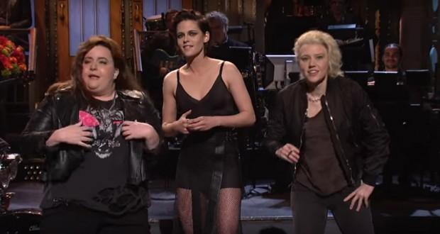 SNL Debut: Kristen Stewart Drops F-Bomb, Mocks Trump For Tweeting About Her