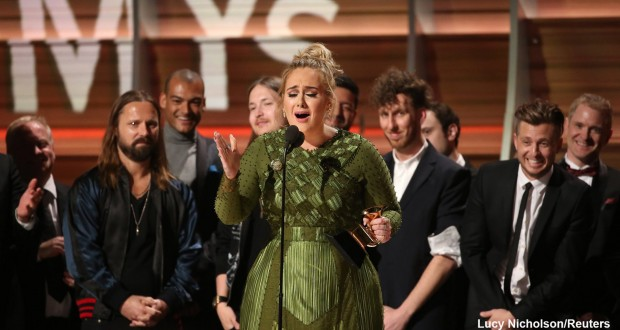 Grammys 2017: Adele reluctantly beats Beyoncé for top prizes as politics flares