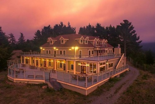 A stay at the luxurious Lost Coast Ranch in Ferndale, California, will be included in goodie bags for Oscar nominees. Photo: Lost Coast Ranch
