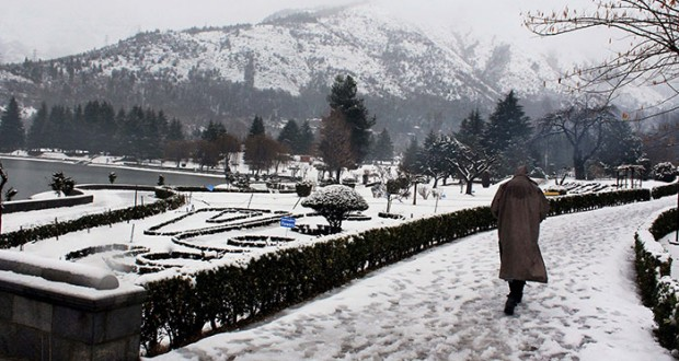 Kashmir Turns Picture Perfect As The Thickest Snowfall In 25 Years Covers The Valley