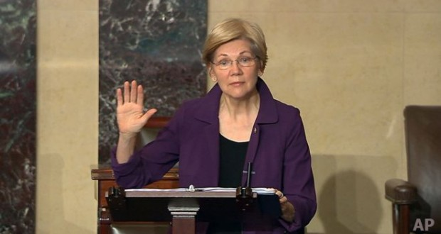 Democratic US Senator Elizabeth Warren Silenced Over Criticism of Sessions
