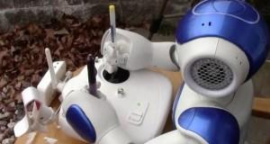 What Happens When A Robot Controls A Drone