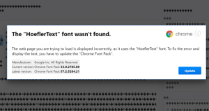 Beware: New Chrome hack prompts users to download 'missing font' to sneak in malware