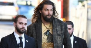 No one needs bodyguards less than 'Aquaman' Jason Momoa
