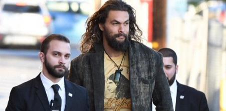 No one needs bodyguards less than 'Aquaman' Jason Momoa