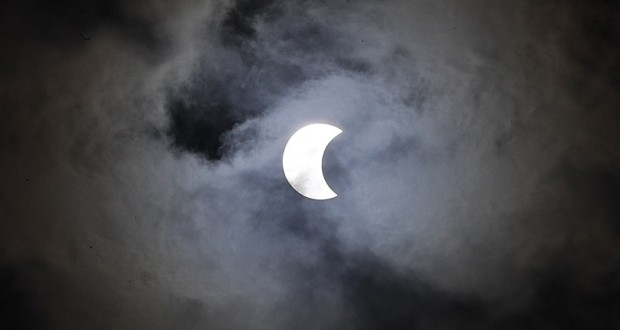 Stunning pictures capture 'ring of fire' solar eclipse affecting half a billion people in South America and Africa