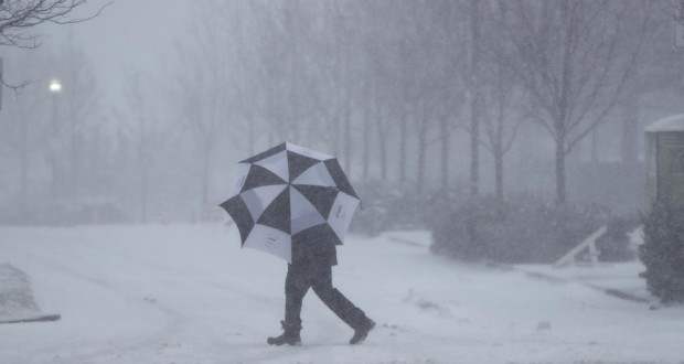 US Northeast Hit By the Biggest Snowstorm of the Winter