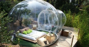 Valentines Day Idea: French hotel lets you sleep in a transparent 'bubble' under the stars