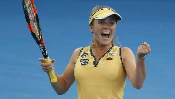 Ukrainian Elina Svitolina To Make Top 10 Debut After Dubai Championships Victory